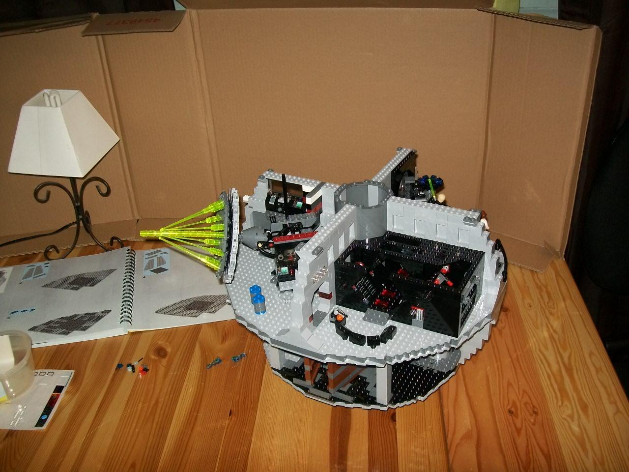L etoile noire set lego sw 10188 partie 4 bo te n 3 lego r by alkinoos - L etoile noire star wars ...