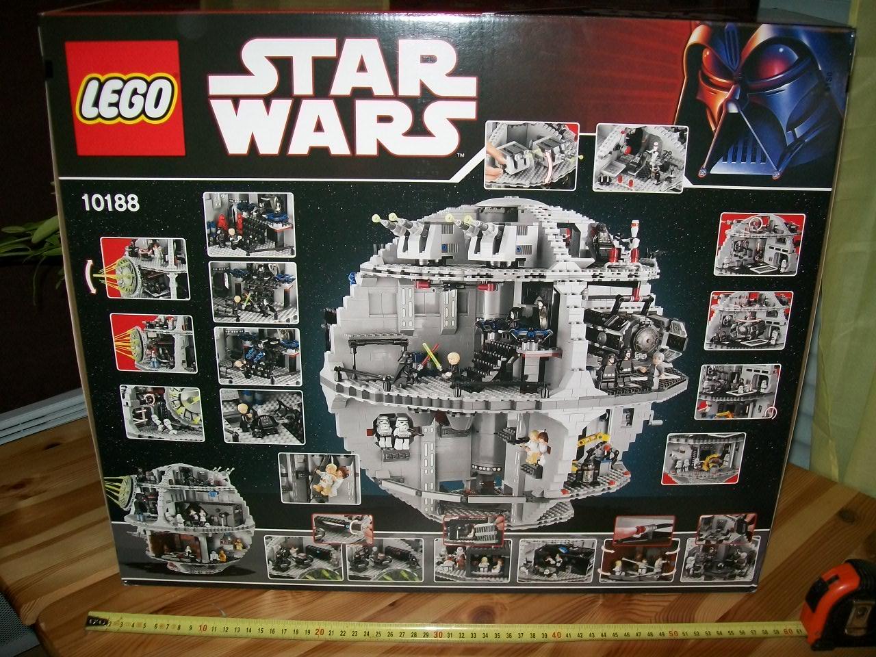 L etoile noire set lego sw 10188 partie 1 d ballage lego r by alkinoos - L etoile noire star wars ...
