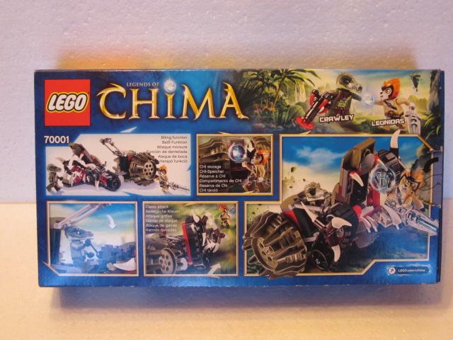 Lego Legends of Chima 70001 p3