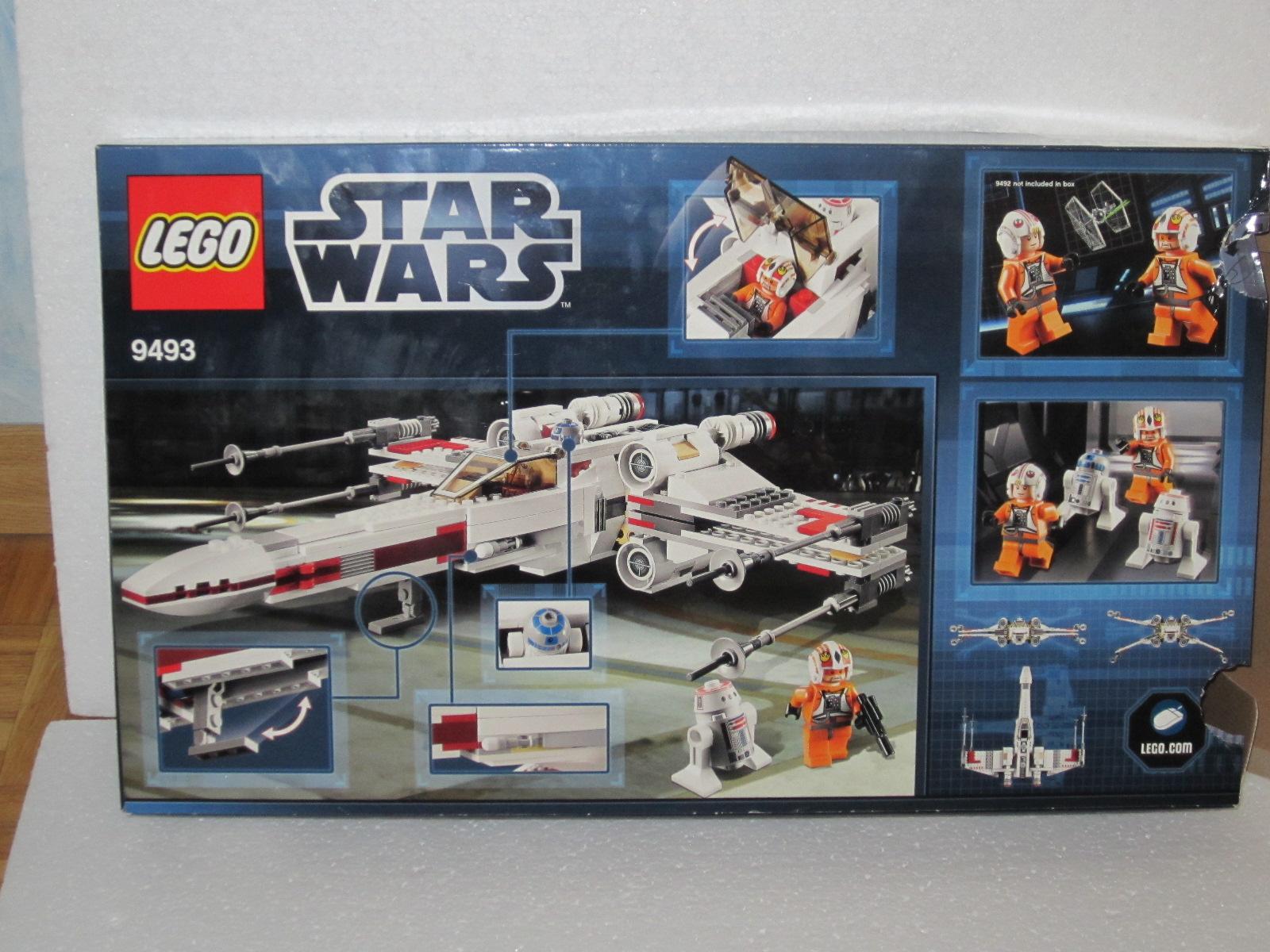 Lego star wars 9493 le x wing lego r by alkinoos - Stars wars vaisseau ...