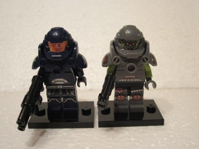 Minfig série 9 space ork space marine