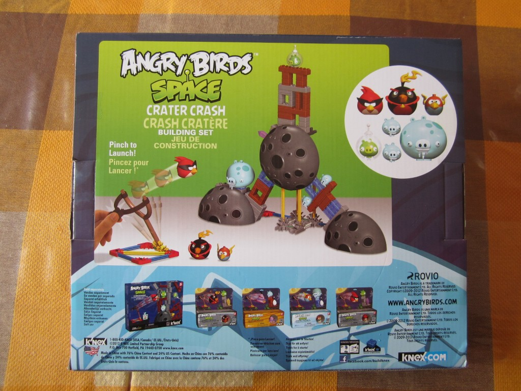 K-nex Angry Birds Space p2