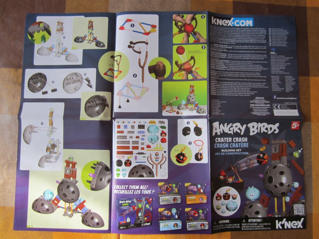 K-nex Angry Birds Space p5