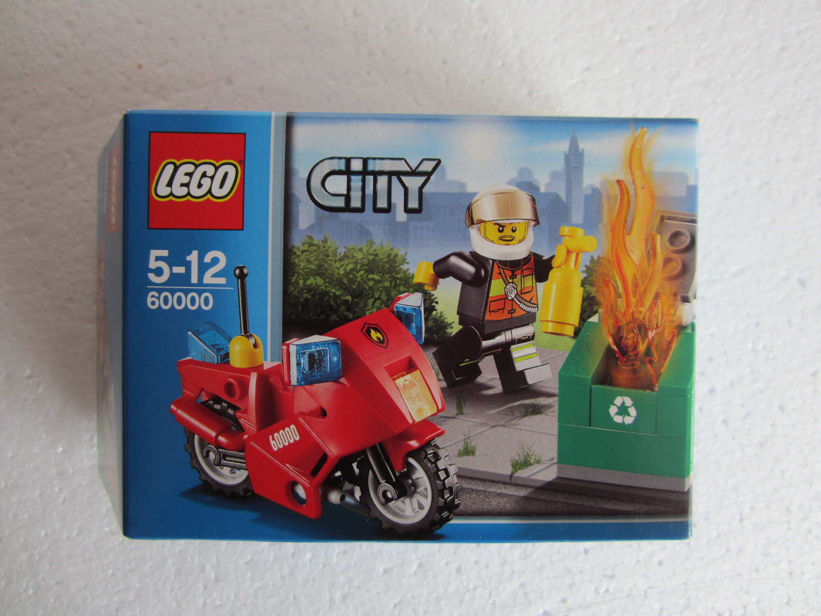 lego city 60000 p1 - Lego City Pompier