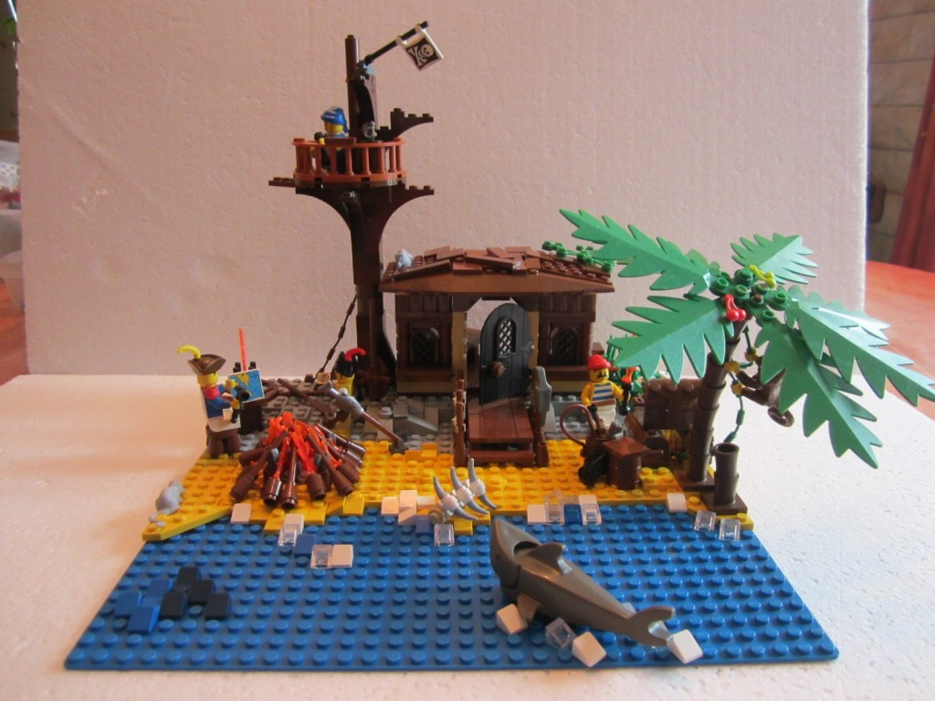 Moc Lego cabane pirates V2 p5