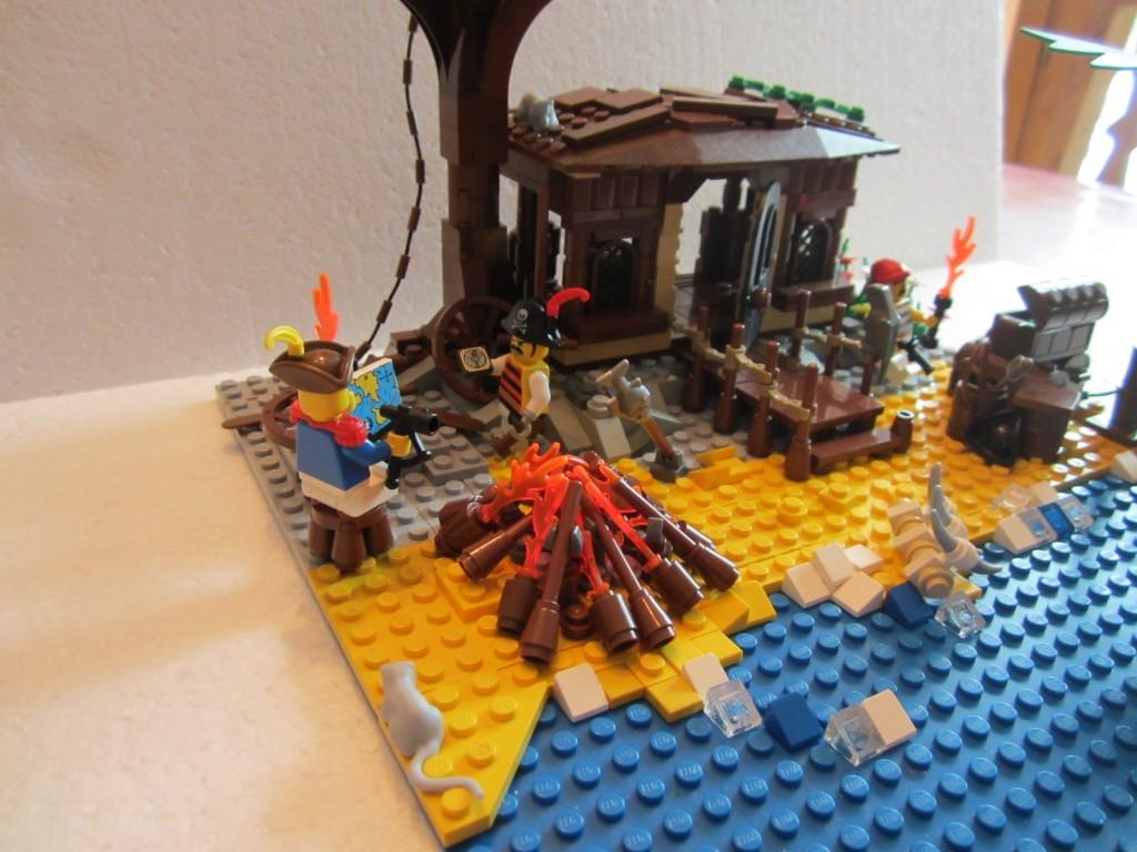 Moc Lego cabane pirates V2 p6