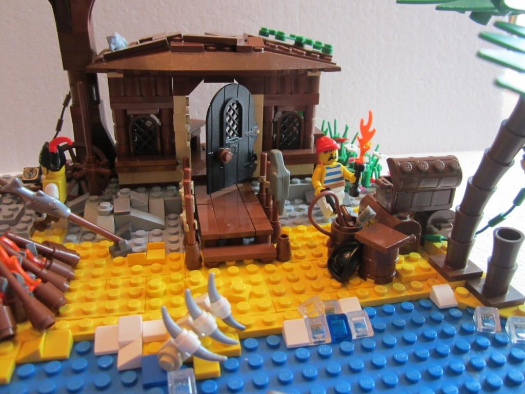 Moc Lego cabane pirates V2 p7