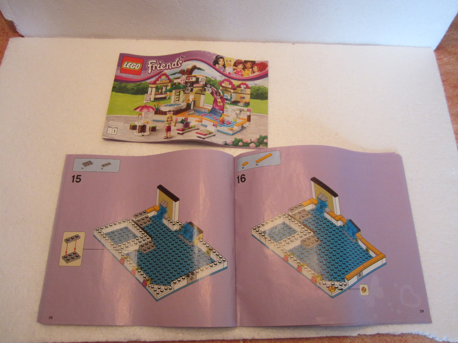 Très Lego Friends 41008 : La piscine d'Heartlake City | Lego(R) by Alkinoos VV54