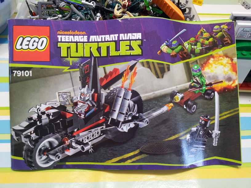 Lego tortue ninja 79101 p1