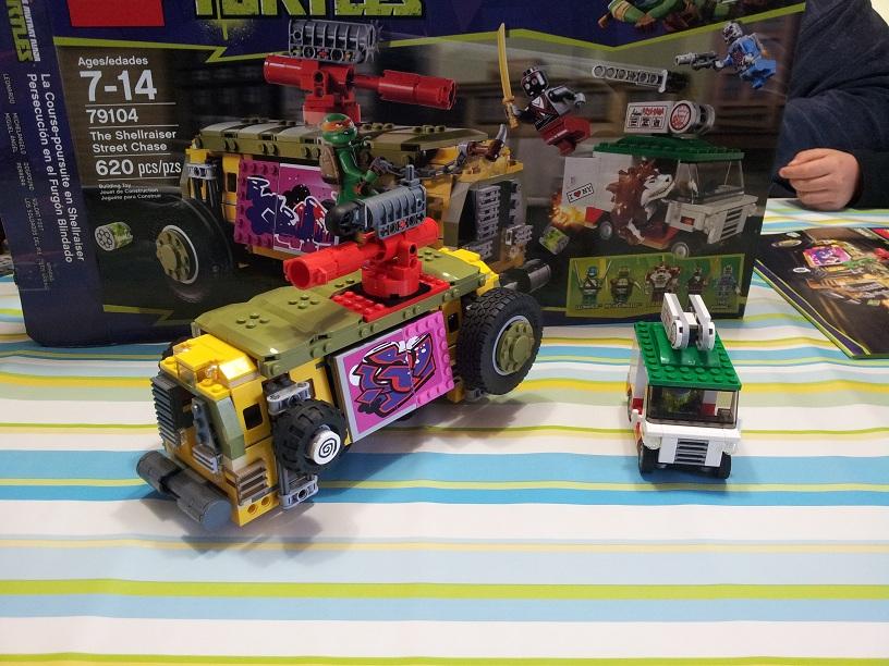 Meeting Lego Du 16 Mars : Montages De Sets SW Et TMNT