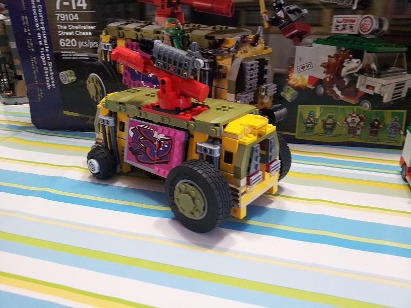 Lego tortue ninja 79104 p4