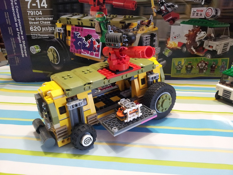 Lego tortue ninja 79104 p8