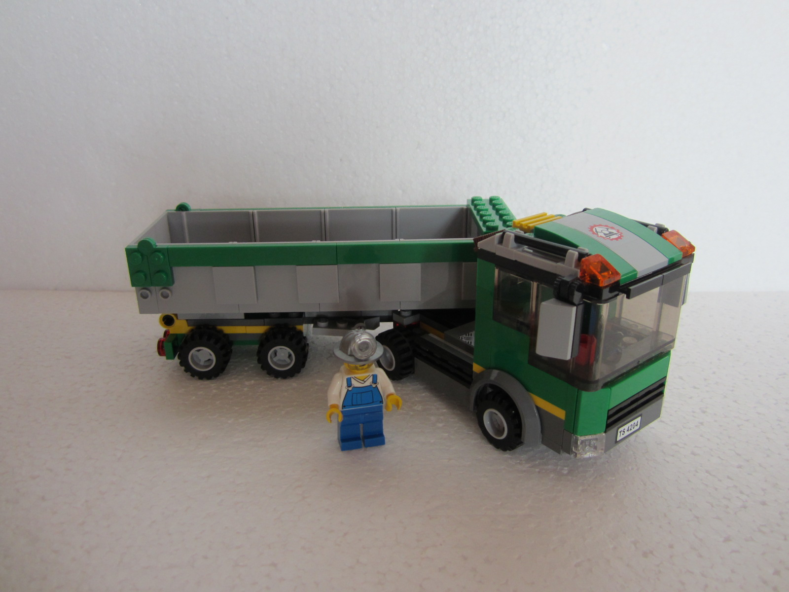 Lego city 4204 la mine d 39 or lego r by alkinoos - Lego city police camion ...