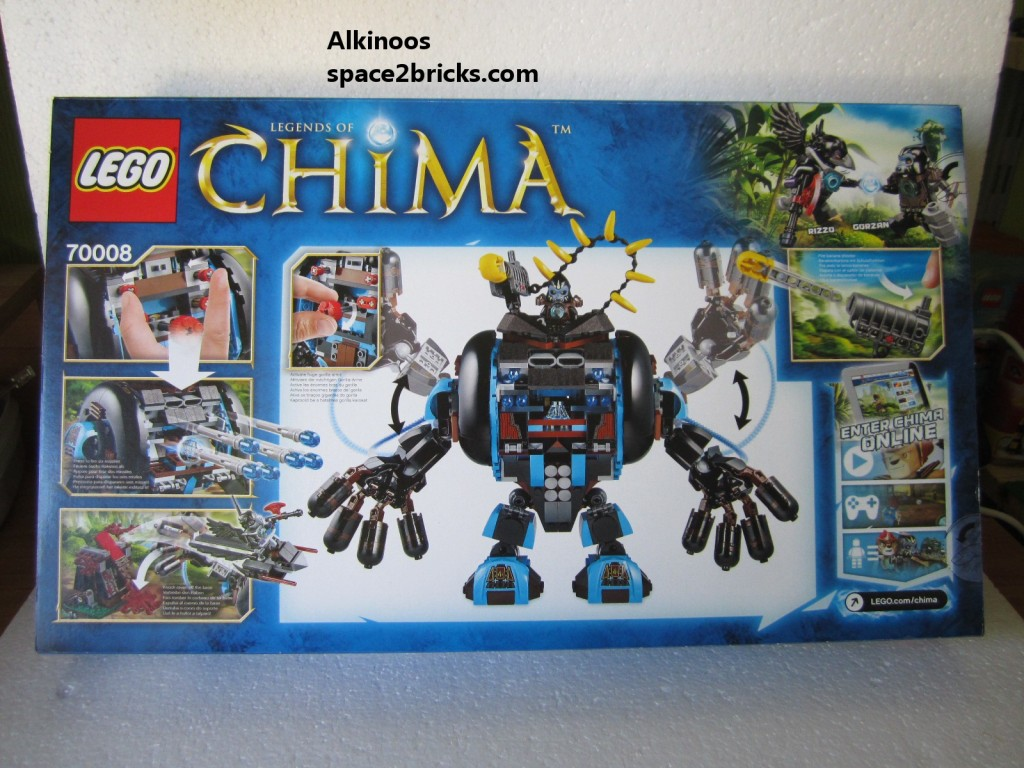 Lego Legends of Chima 70008 p2