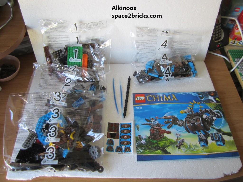 Lego Legends of Chima 70008 p4