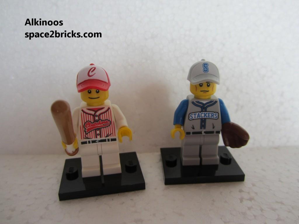 Minfig série 10 joueur de baseball p2
