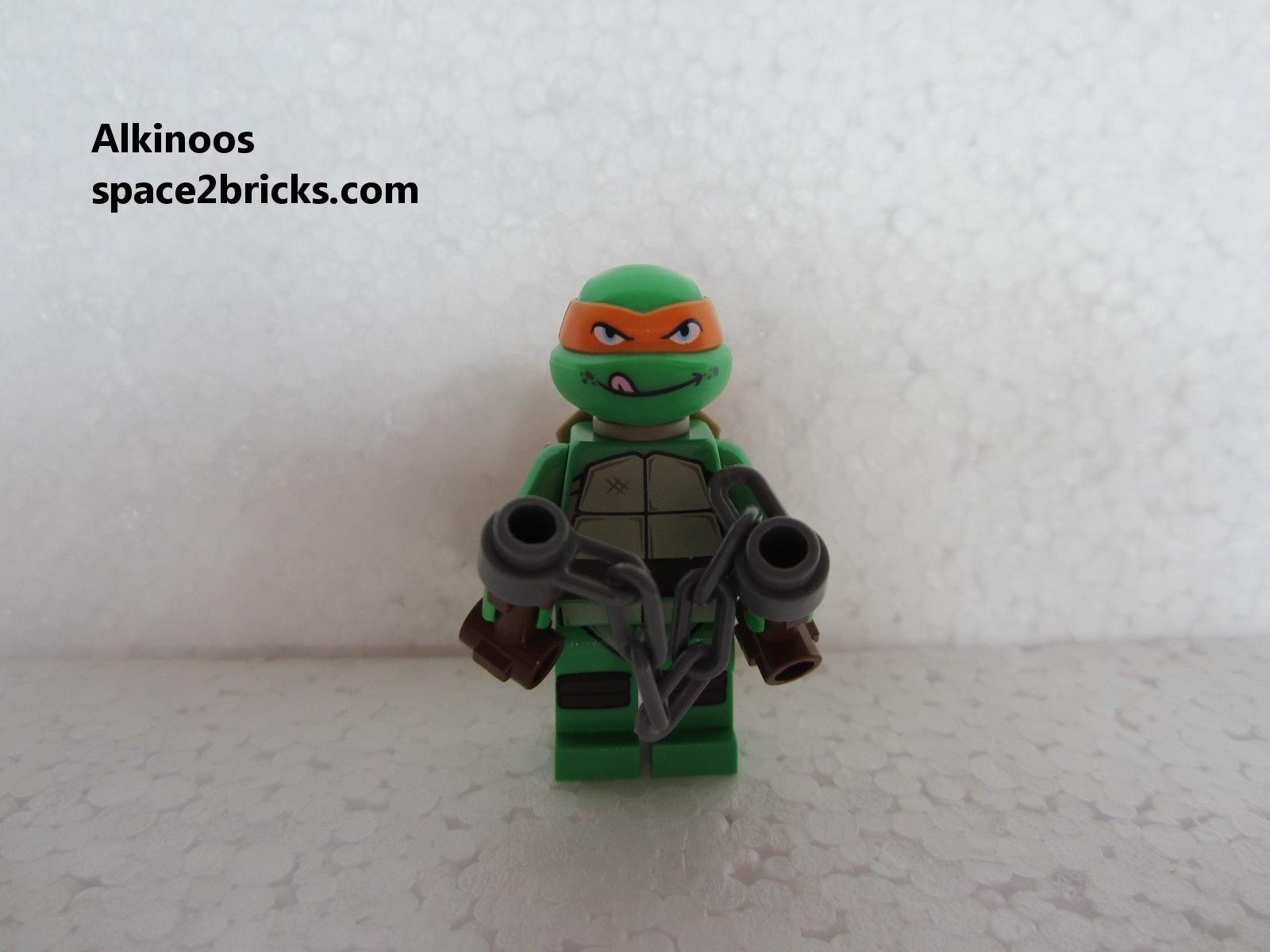 Nouvelles minifigs r cup r es le 25 mai partie 2 lego - Tortues ninja michelangelo ...