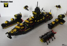 blacktron's fleet