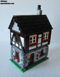 Moc Lego Kaamelott maison p6