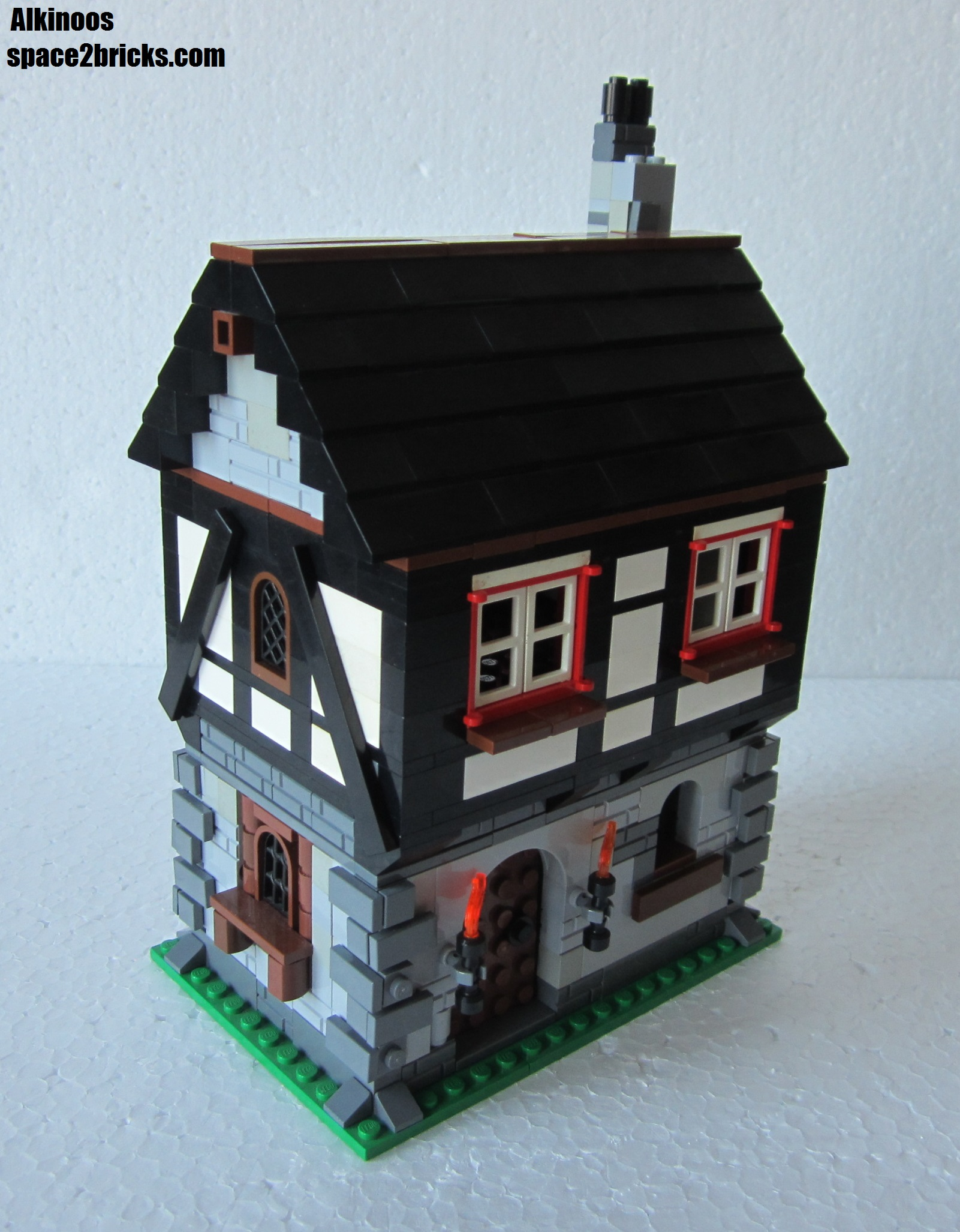 moc kaamelott la petite maison s agrandit lego r by alkinoos. Black Bedroom Furniture Sets. Home Design Ideas