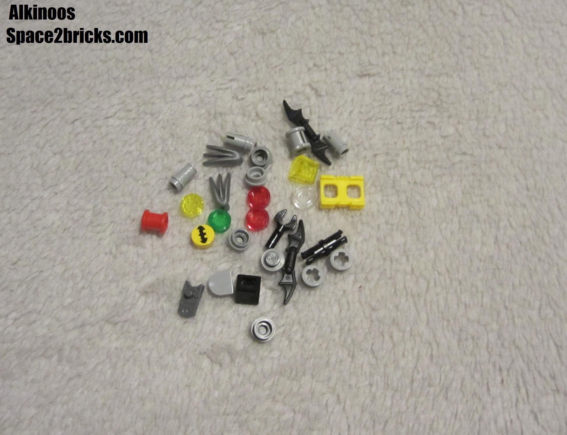 Les pièces Lego en extra
