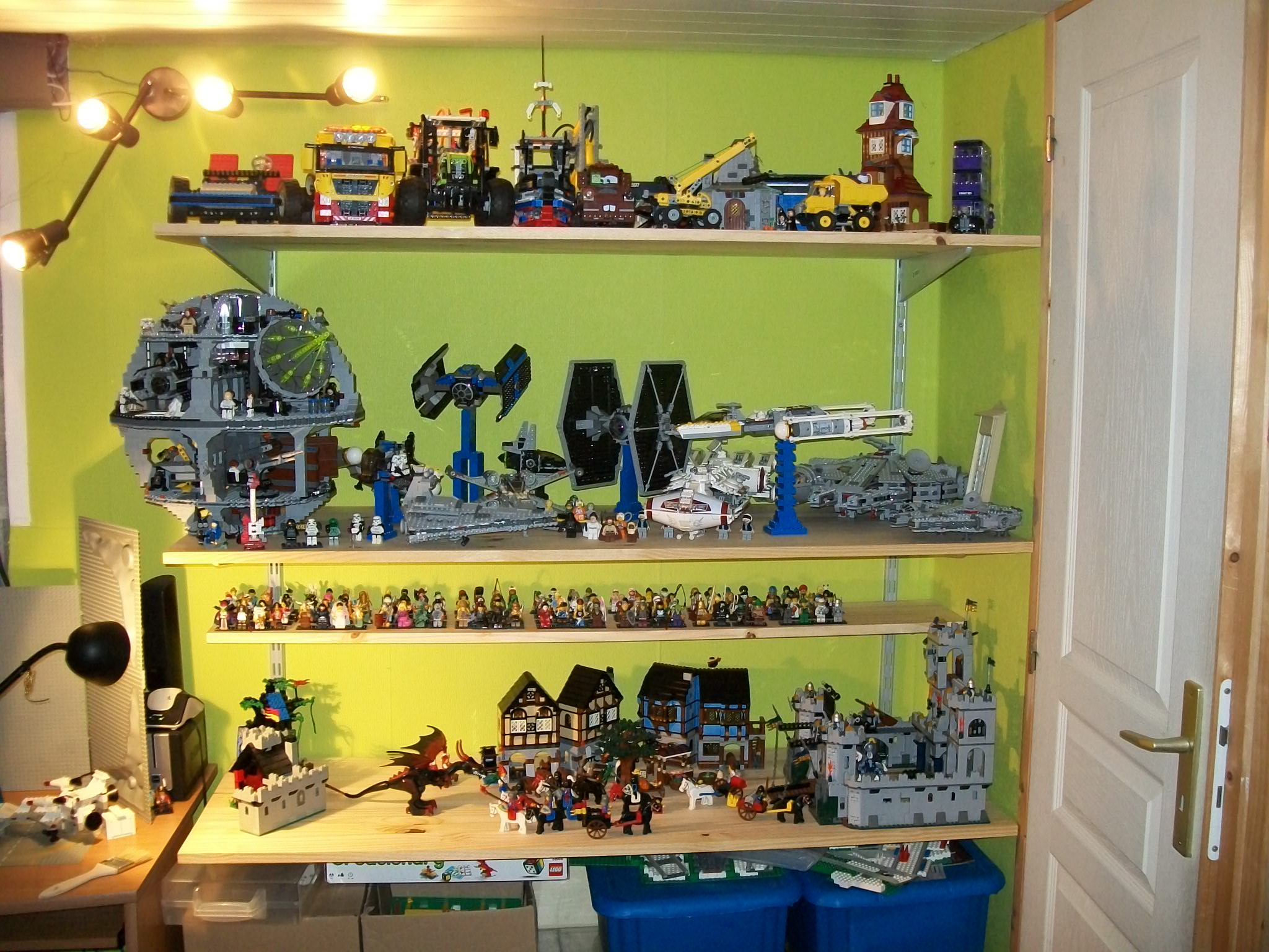 ma caverne lego pisode 4 lego r by alkinoos. Black Bedroom Furniture Sets. Home Design Ideas