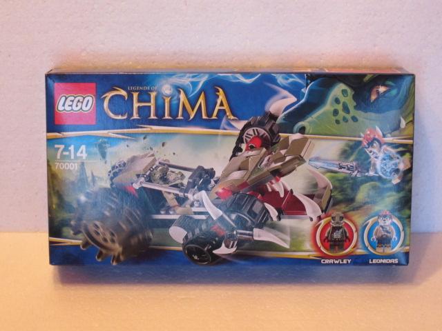 Lego Legends of Chima 70001 p2