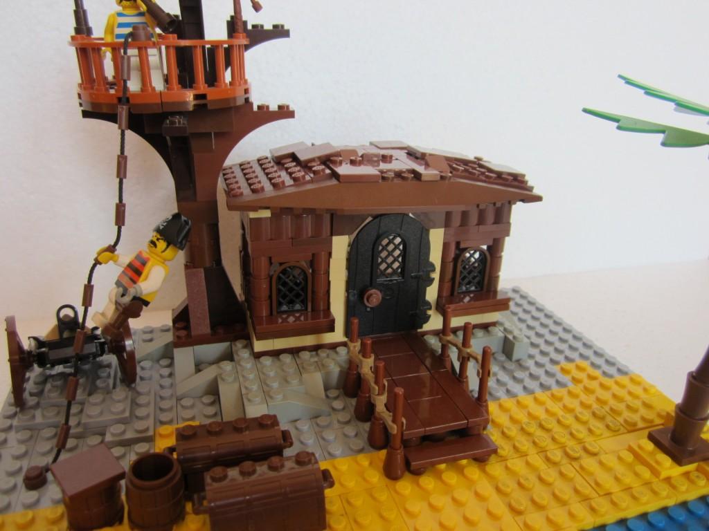 Moc Lego cabane pirate p2