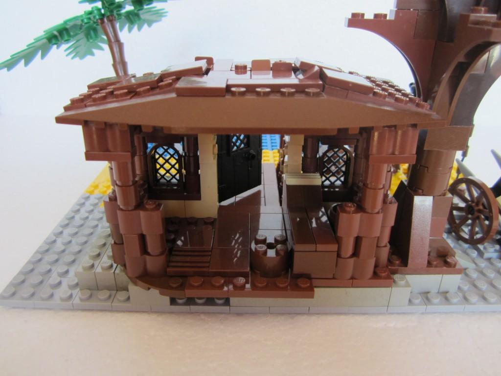 Moc Lego cabane pirate p4