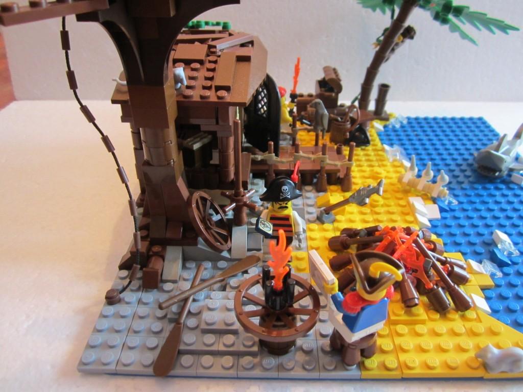Moc Lego cabane pirates V2 p11