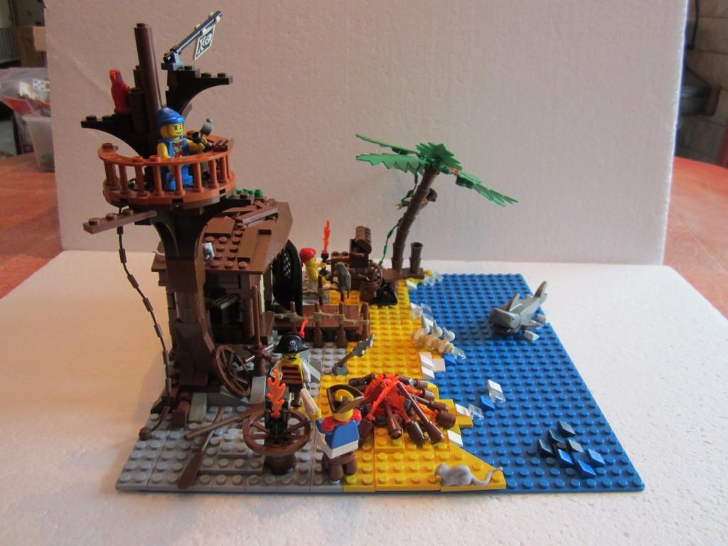 Moc Lego cabane pirates V2 p3