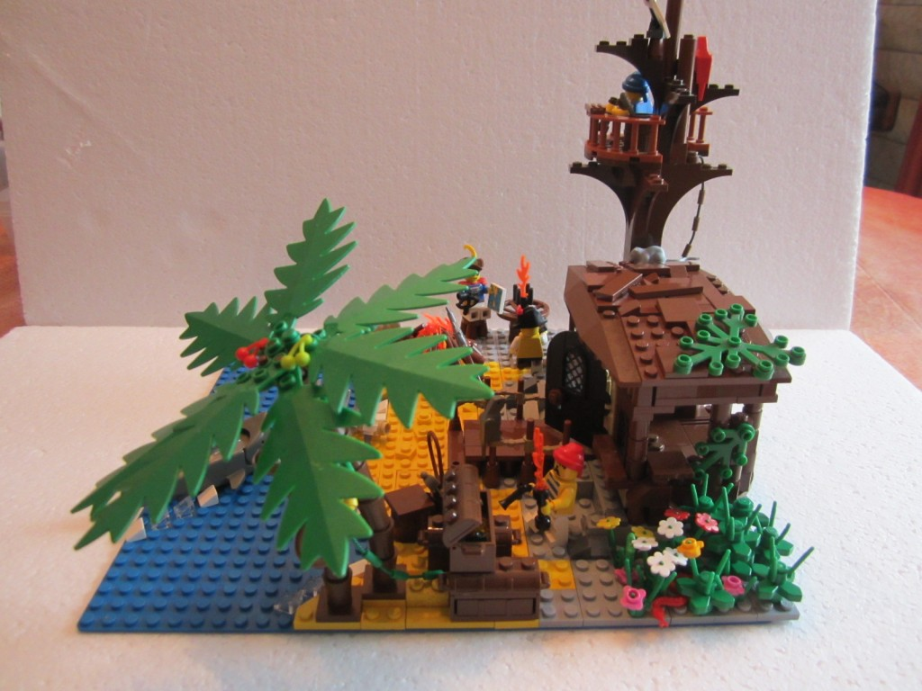Moc Lego cabane pirates V2 p8