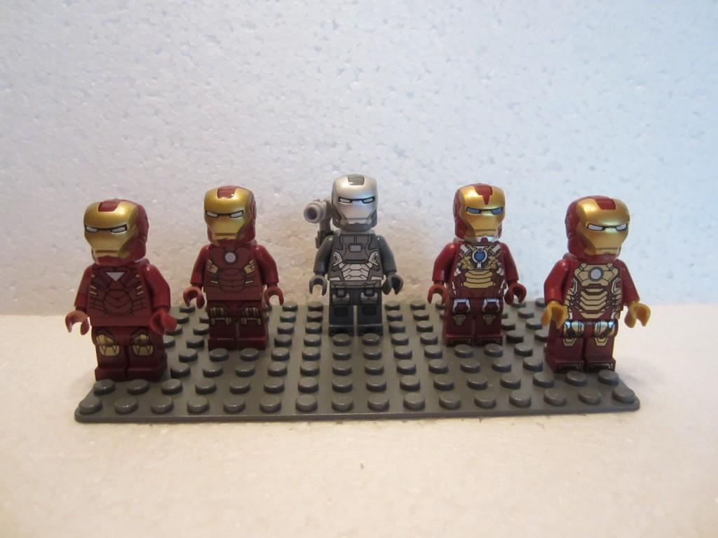 Armures Iron Man p1