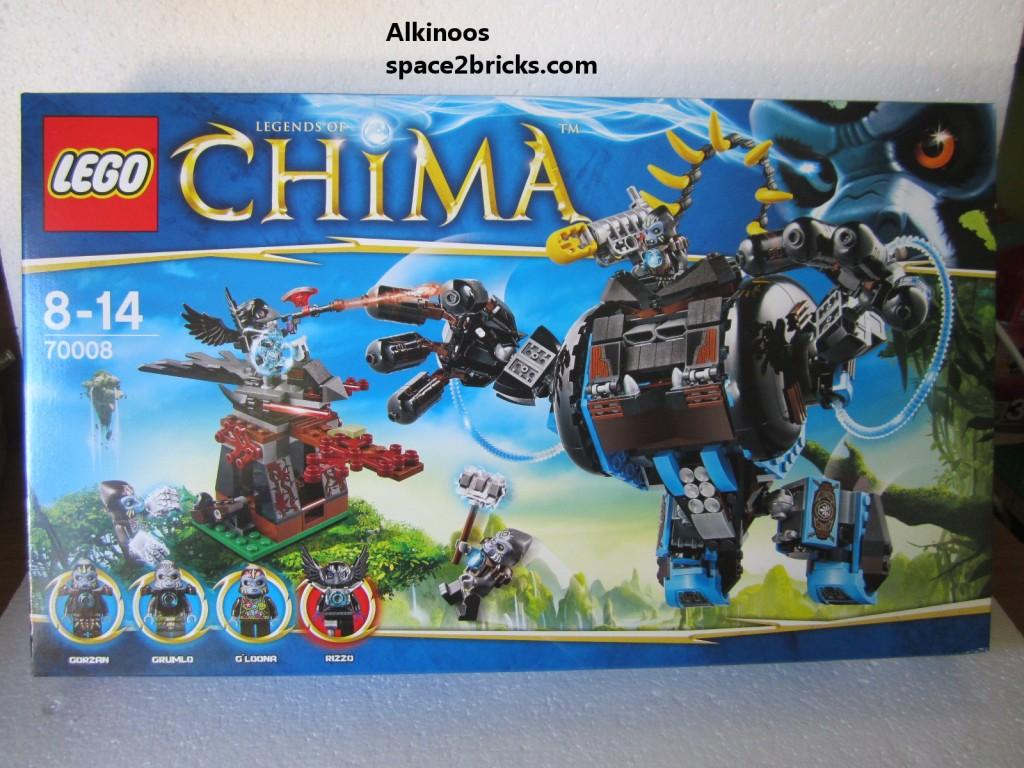 Lego Legends of Chima 70008 p1