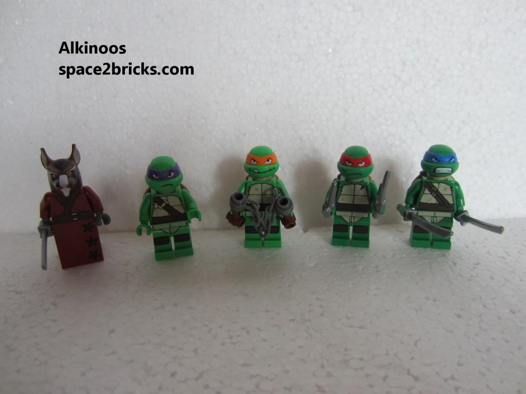 Tortue Ninja ensemble