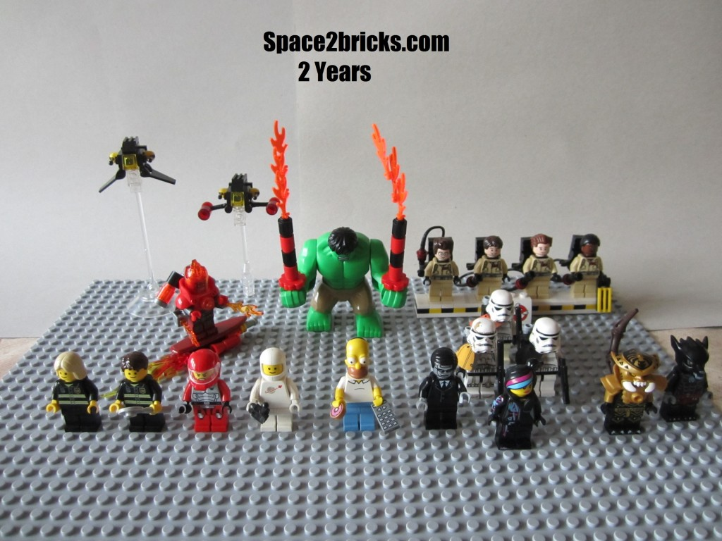 Space2bricks 2 years birthday