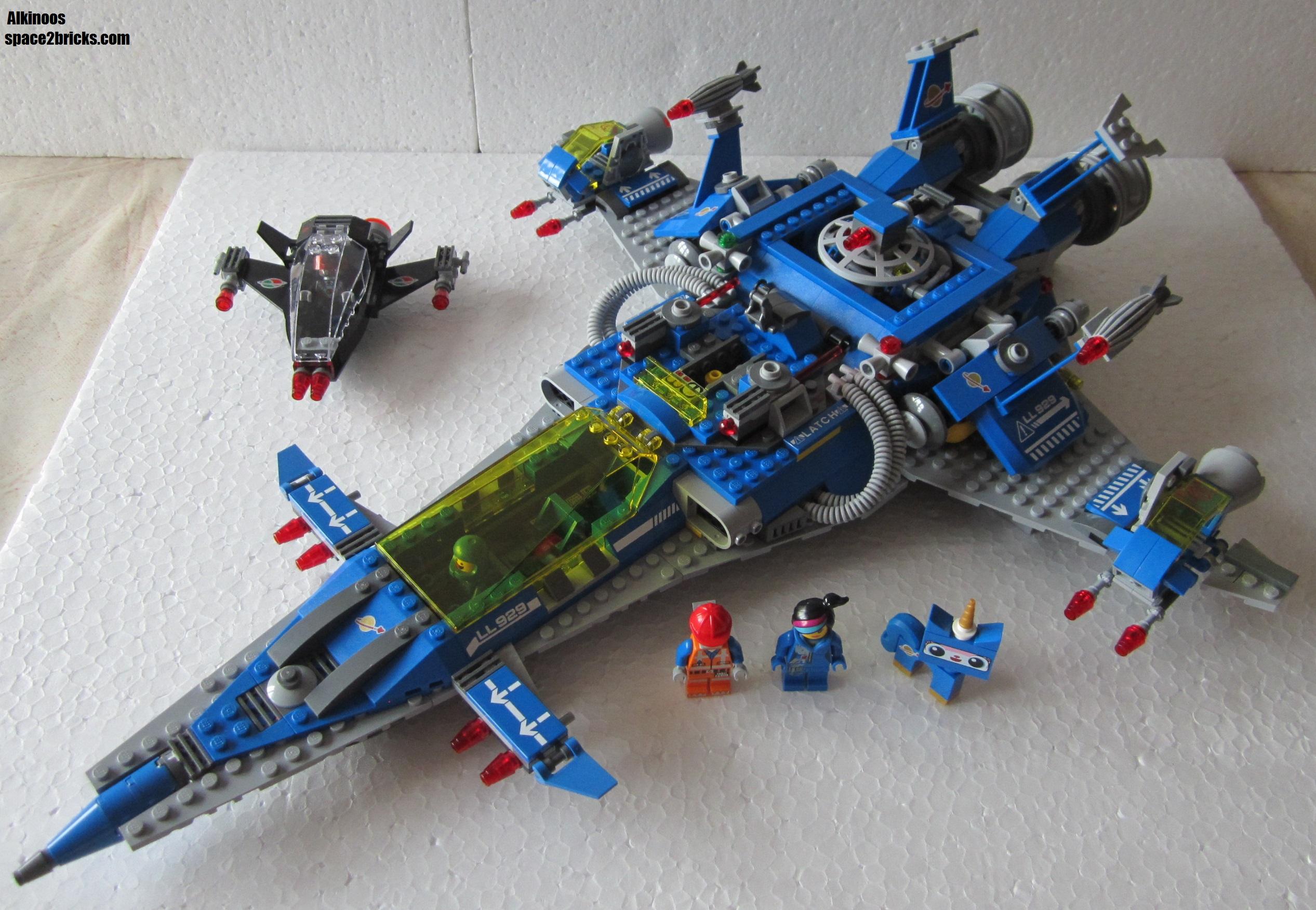 lego movie 70816 le vaisseau spatial de benny lego r by alkinoos. Black Bedroom Furniture Sets. Home Design Ideas