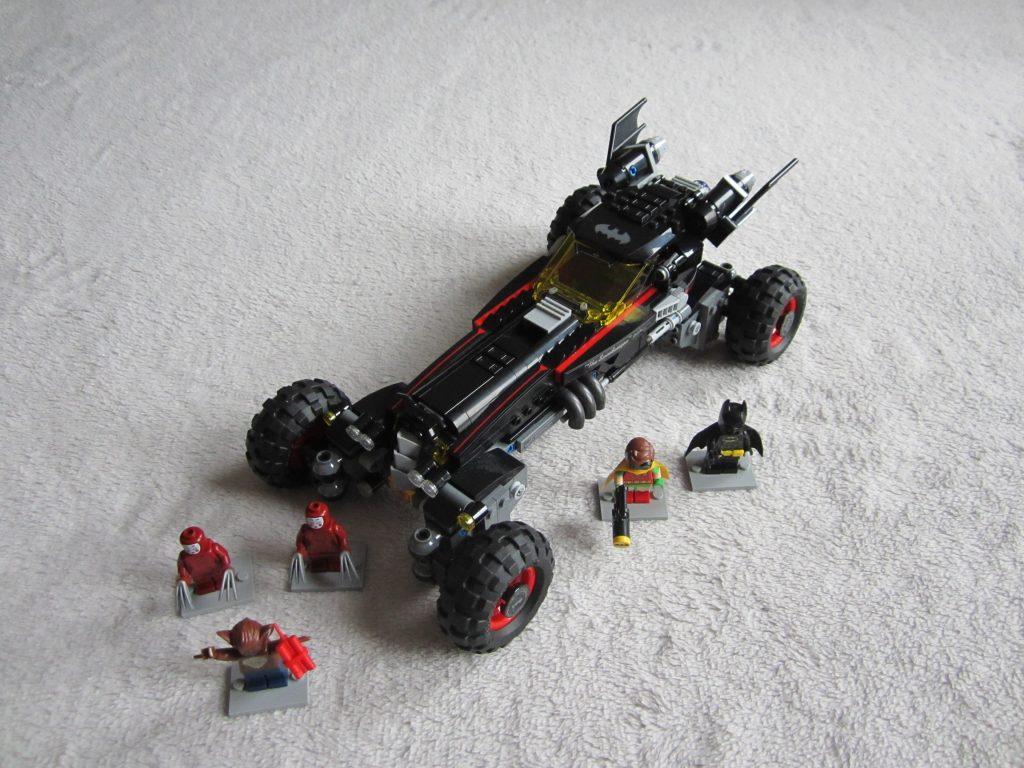 La Batmobile est teminée.
