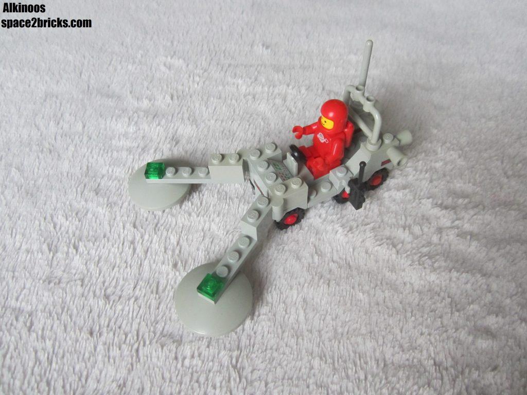 Le rover terminé