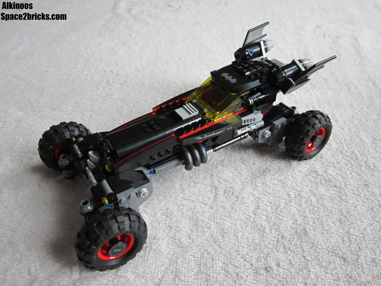 Batmobile sous tous ses angles