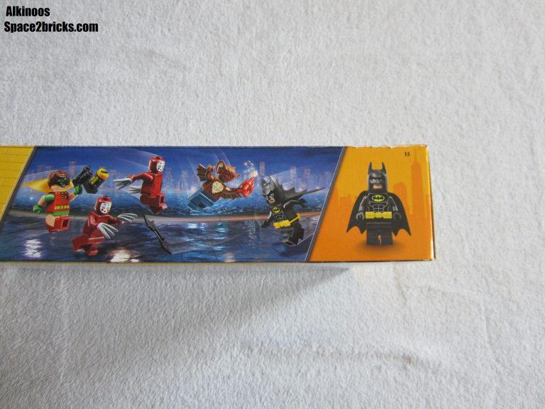 Sur la tranche, Batman