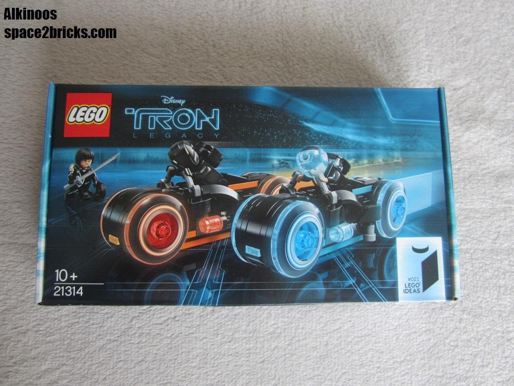 La boîte Lego Tron