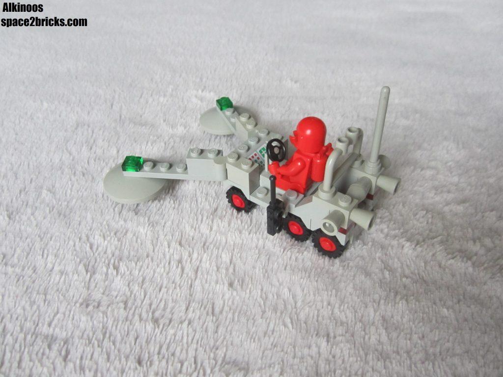vue de l'arrière du rover