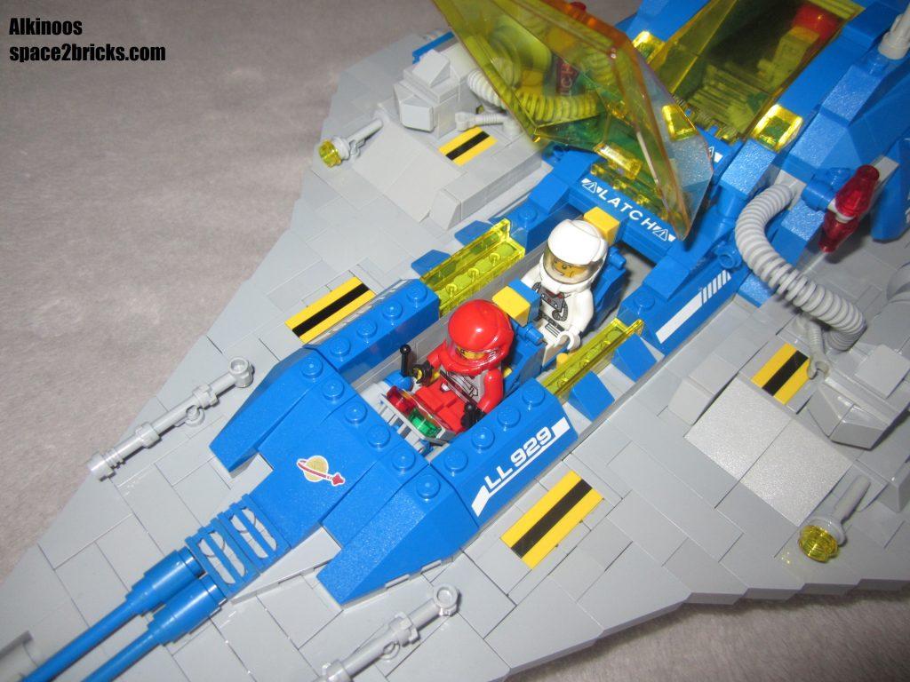 Vue dans le cockpit