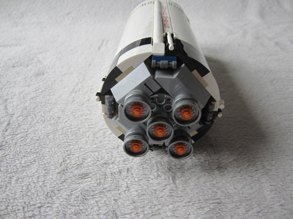 Les cinq moteurs J2