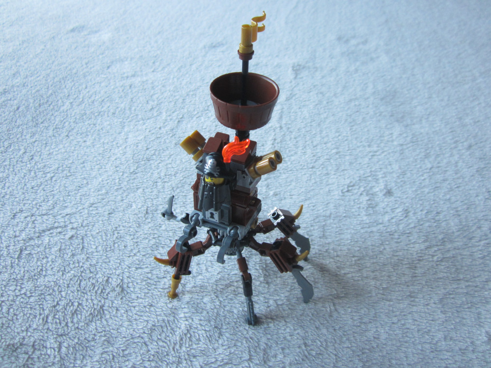 le robot crabe de Metal Beard