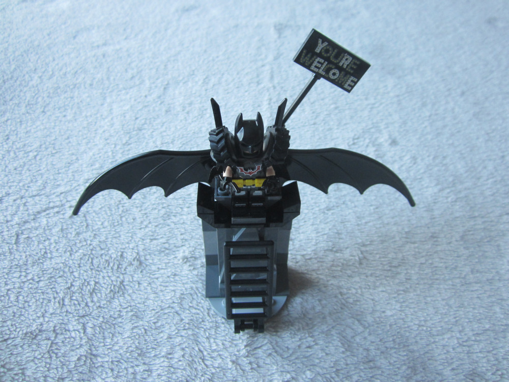 Batman sur son trône