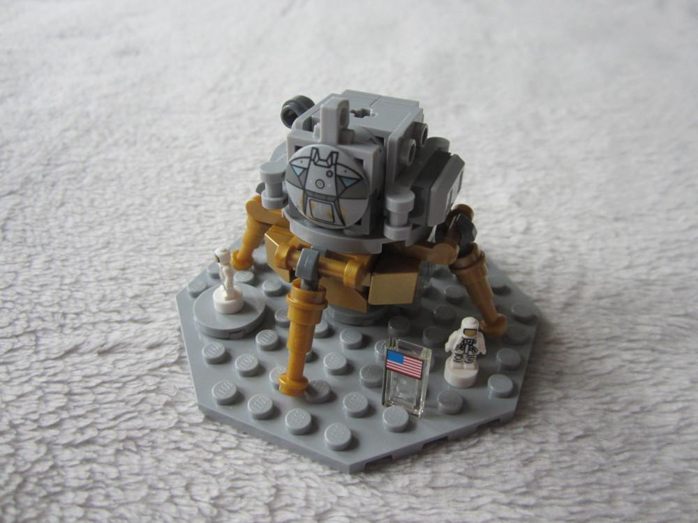 Lego Ideas 21309 : sur la lune