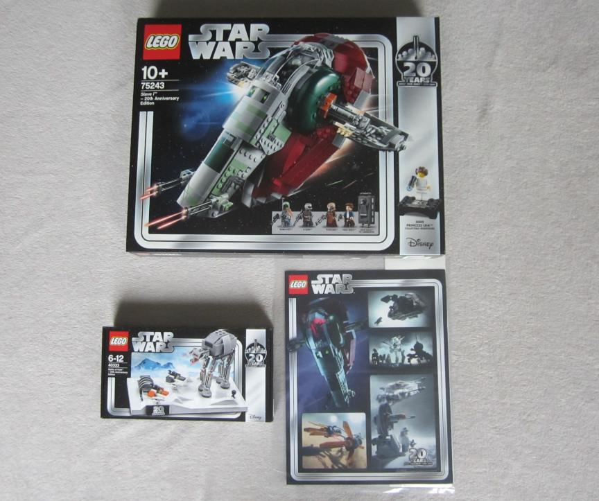 Lego may force. Ensemble de la commande de chez Lego.