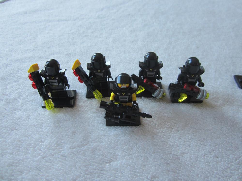 Lego Blacktron Squadron Lego Galactic Bounty Hunter